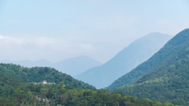 4k tl: mountain and moving shadow cloud. - annapurna range stock videos and b-roll footage