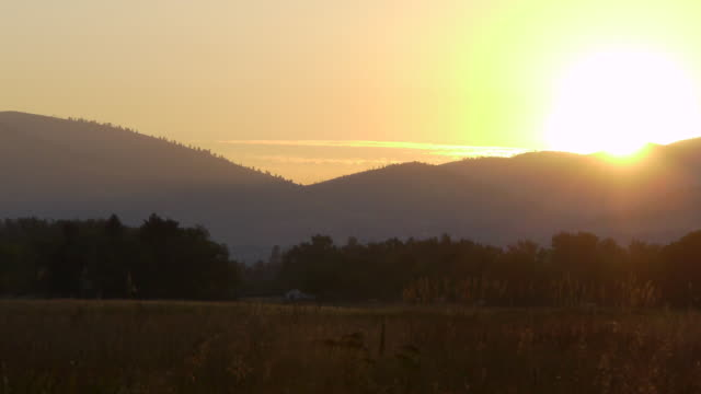Mountain at sunrise  1