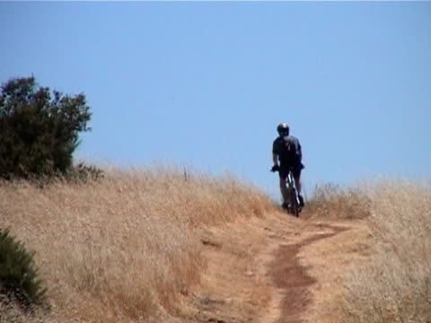 mountain bike trail ride - trail ride stock videos and b-roll footage