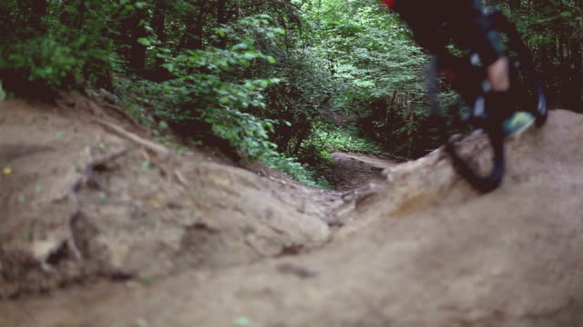 mountain bike - mountain bike stock videos & royalty-free footage
