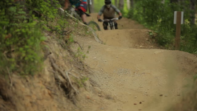 mountain biking - queenstown stock videos & royalty-free footage