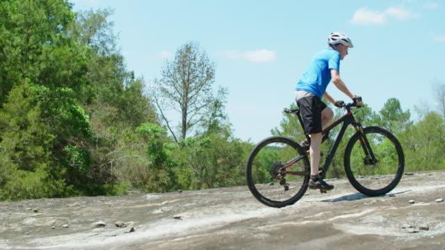 mountain biking - mountain biking stock videos & royalty-free footage
