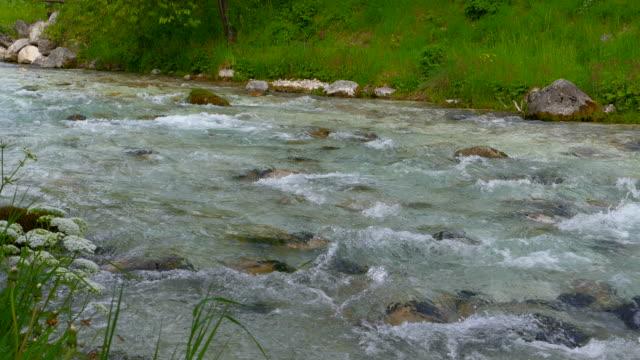 Mountain brook near Ramsau, Upper Bavaria, Germany, Europe