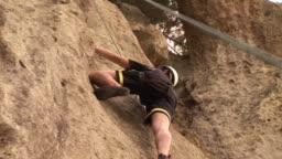 Mountain Climbing, Underneath - HD & PAL