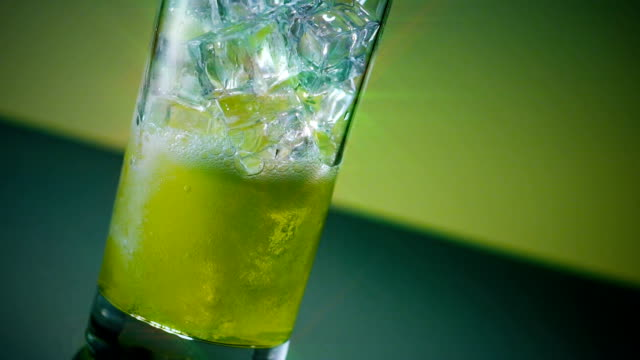 mountain dew glass pour star filter - dew stock videos and b-roll footage