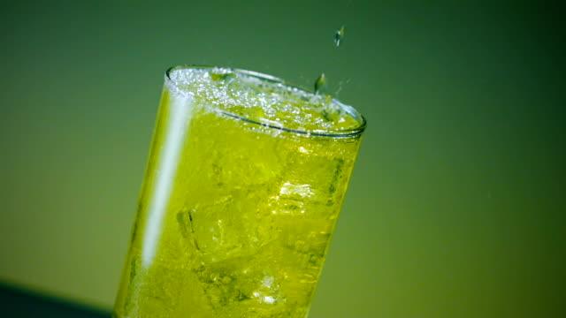 mountain dew splashing in ice - soda stock videos & royalty-free footage
