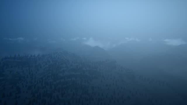 Survol de la montagne