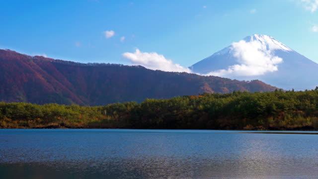 日本の山富士 - 山梨県点の映像素材/bロール