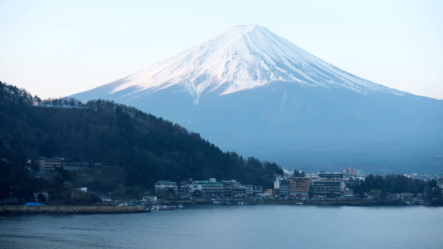 Berg Fuji Ansicht von Kawagujiko, Japan