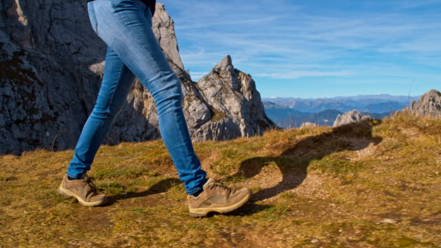 ms mountain hiking - julian alps stock videos and b-roll footage
