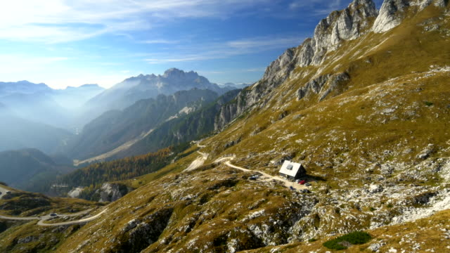 AERIAL Mountain Hut