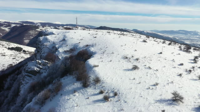 mountain in winter - recreational horseback riding stock videos & royalty-free footage