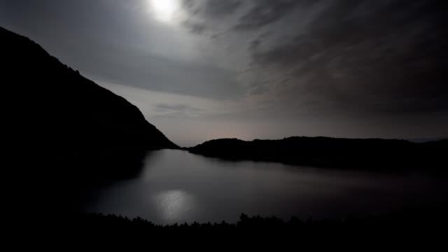 (Time lapse) Mountain Lake
