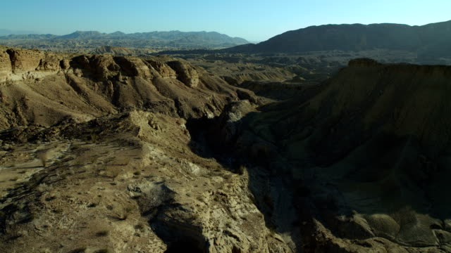 mountain landscape in anza-borrego ca - sonoran desert stock videos & royalty-free footage