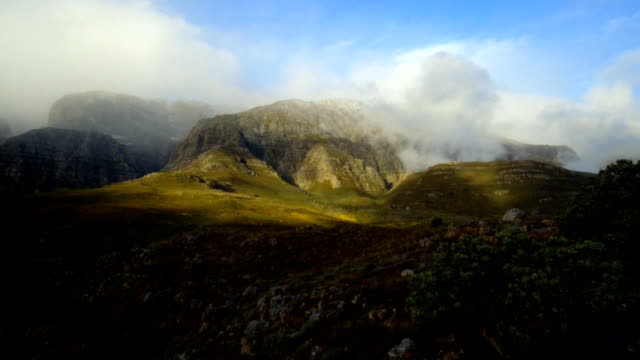Mountain landscape in the Kloof Mountains, Western Cape Province, South Africa