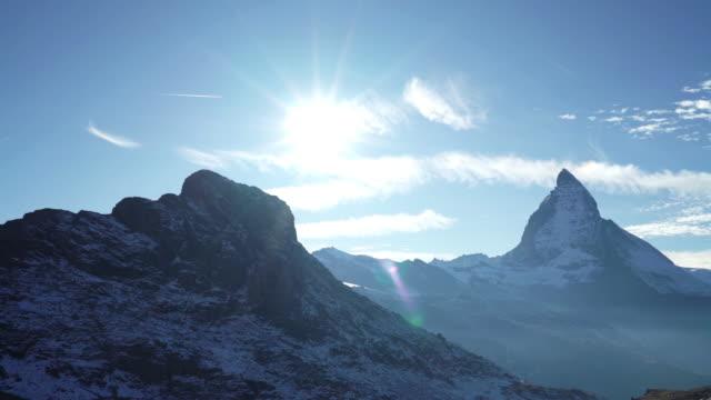 Berg Matterhorn, Schweiz.