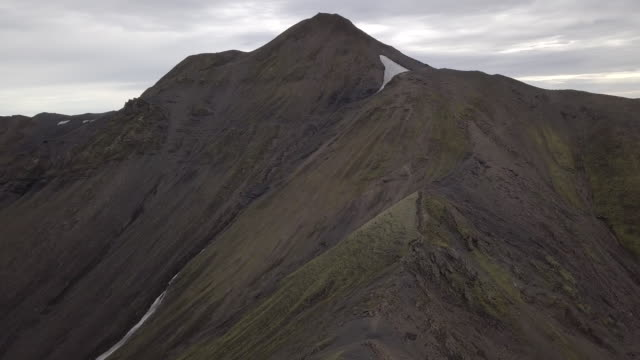 Mountain Peak in Iceland's Central Highlands