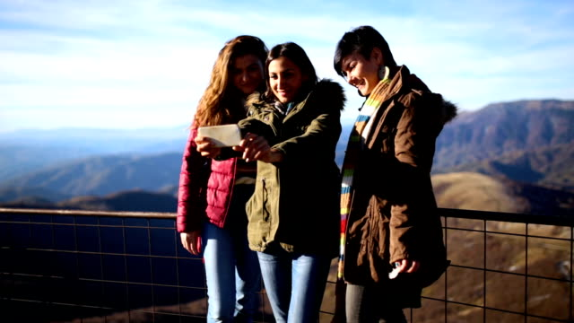 Mountain Peak Selfies