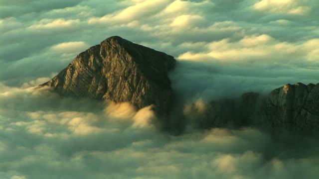 hd: mountain peak - triglav national park stock videos and b-roll footage