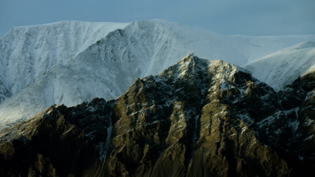 Mountain Peaks In Canadian Arctic
