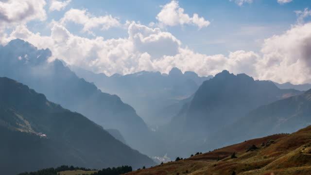 Mountain Peaks Time Lapse