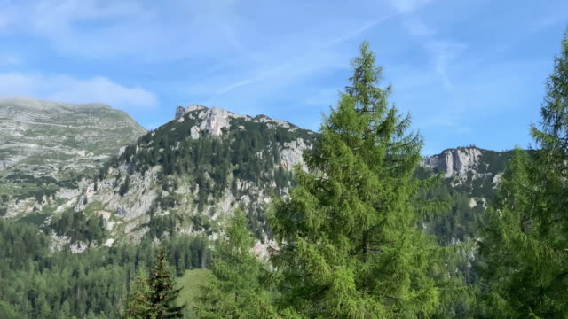 mountain range landscape - upper austria stock videos & royalty-free footage