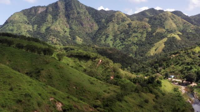 mountain range - puerto rico stock videos & royalty-free footage