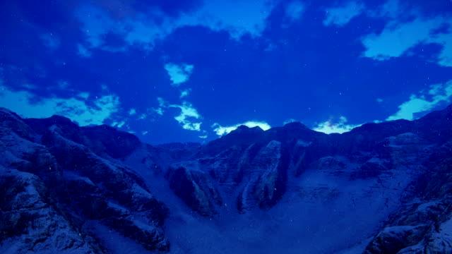 mountain ridge and snow - digital enhancement stock videos & royalty-free footage