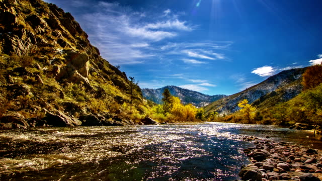 mountain river. - colorado stock videos & royalty-free footage