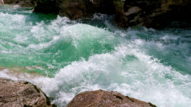 山の川 - 急流点の映像素材/bロール