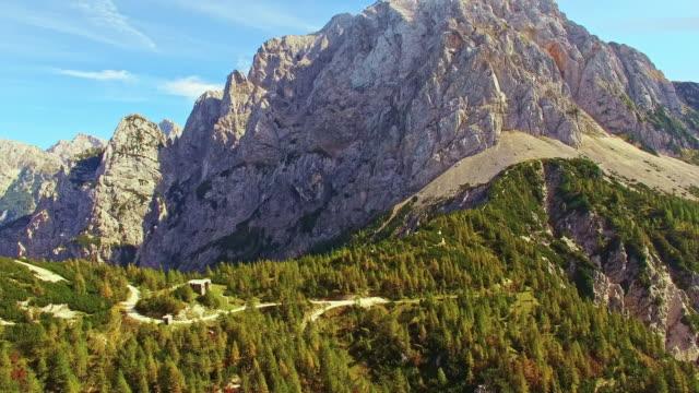 AERIAL Mountain routes