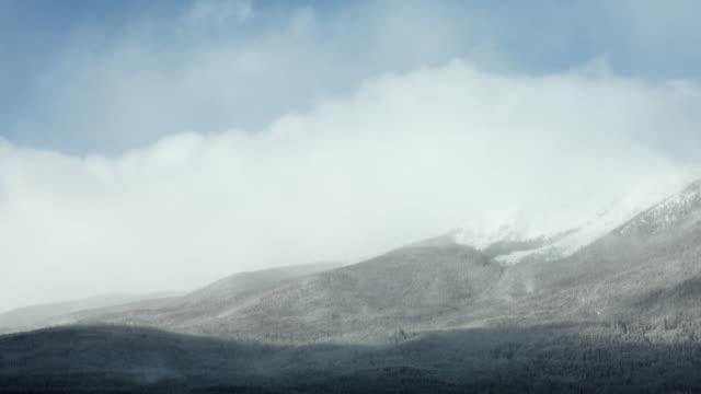 mountain scene - weather stock videos & royalty-free footage