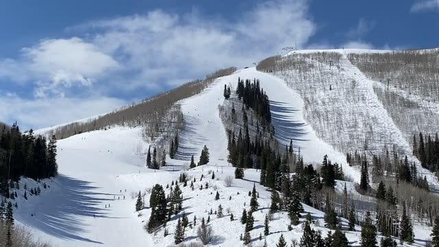 mountain scenic alpine winter - park city stock videos & royalty-free footage