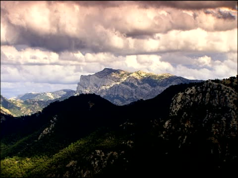 mountain scenic, autumn, parque natural de sierra maria, andalusia, southern spain - parque natural stock videos and b-roll footage