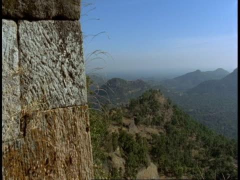 wa mountain scenic, bandhavgarh national park, india - national icon stock videos & royalty-free footage