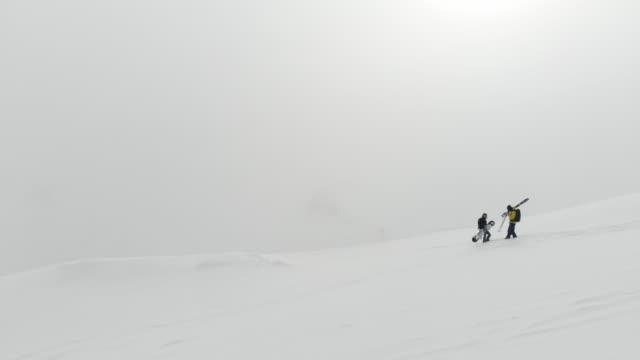 Mountain ski movie.