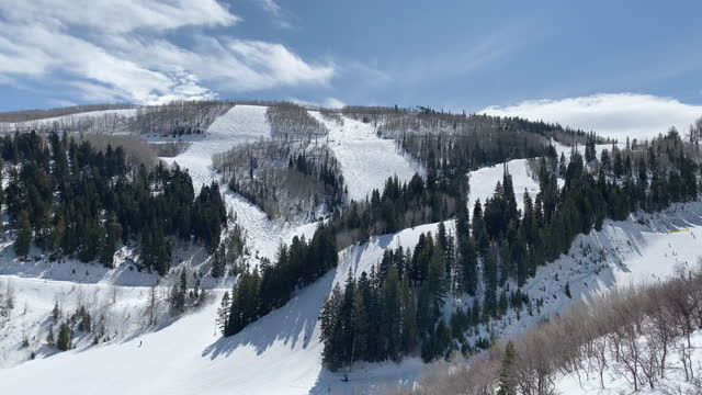 mountain ski resort usa - park city stock videos & royalty-free footage