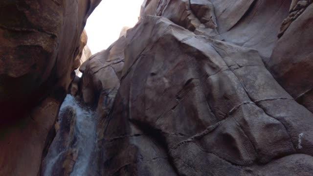 4k mountain stream waterfall - satoyama scenery stock videos & royalty-free footage