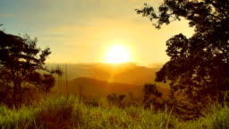 Mountain Sunrise, Central Province, Sri Lanka
