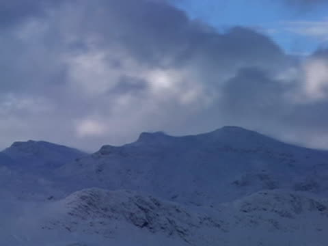 mountain time-lapse 7 - named wilderness area stock videos & royalty-free footage