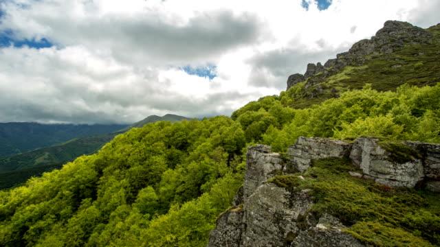 mountain time-lapse - serbia stock videos & royalty-free footage