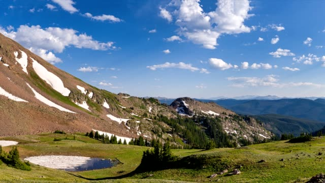 mountain view time lapse - gore range stock videos and b-roll footage
