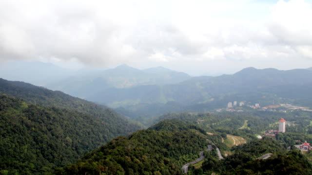Mountain view (Time-lapse)