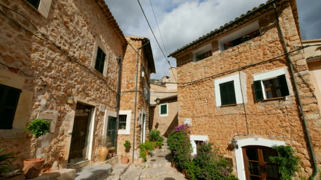 mountain village Fornalutx, Tramuntana Mountains, Majorca