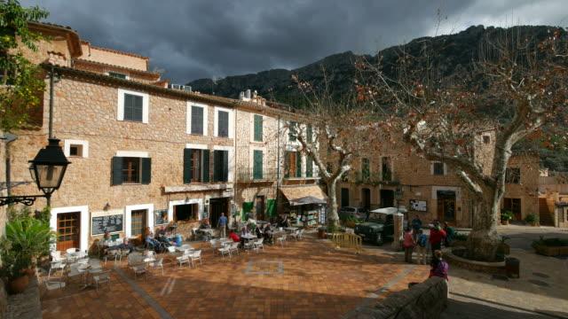 mountain village Fornalutx, Tramuntana Mountains, Majorca