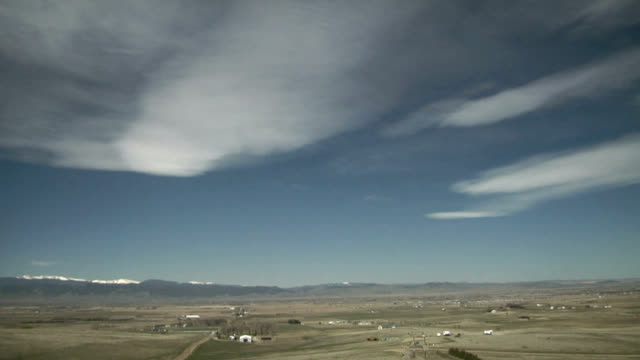 mountain wave clouds, timelapse - midday stock videos & royalty-free footage