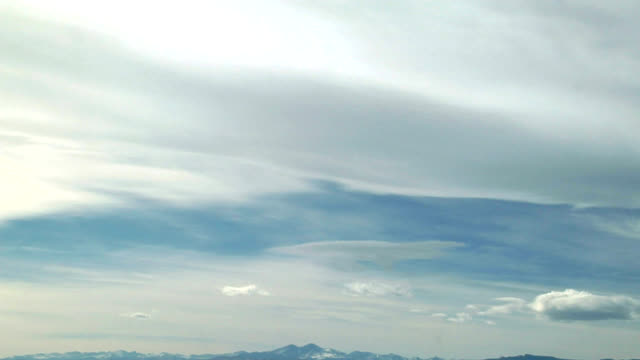 mountain wave clouds, timelapse - sky only stock videos & royalty-free footage