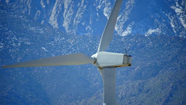 Mountain Wind Power Closeup HD