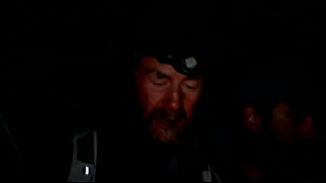 'risking it all' sir ranulph fiennes mission to climb mount everest day one nepal himalayas mount everst various shots of juniper being burned at... - base camp stock videos and b-roll footage