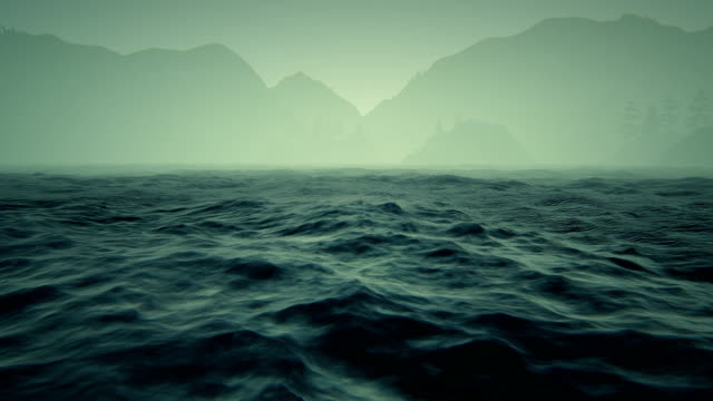 mountains and rough seas - atmospheric mood stock videos & royalty-free footage